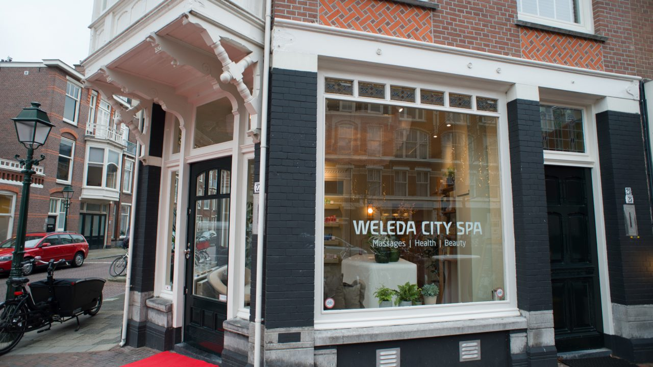 Gevel Weleda City Spa Den Haag