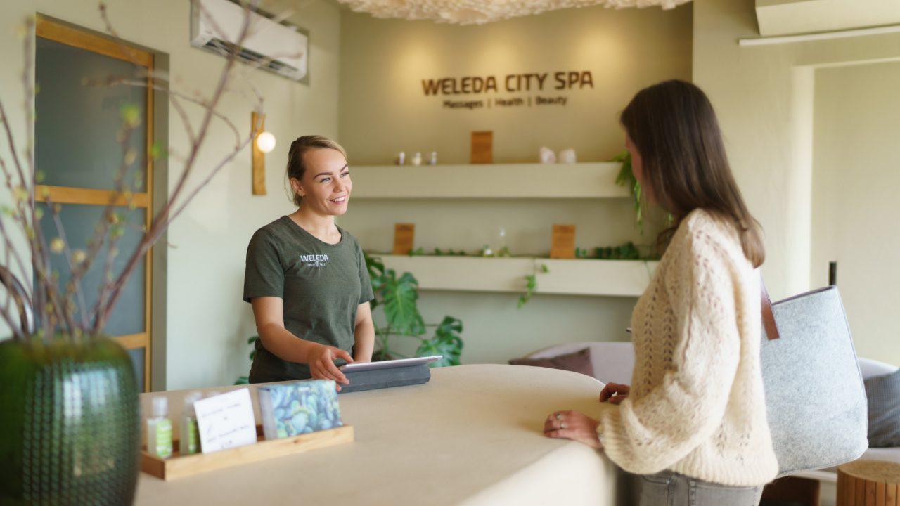 Weleda City Spa entree