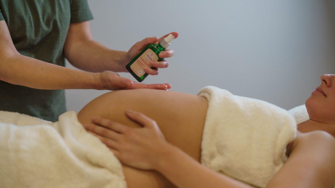 Zwangerschapsmassage olie