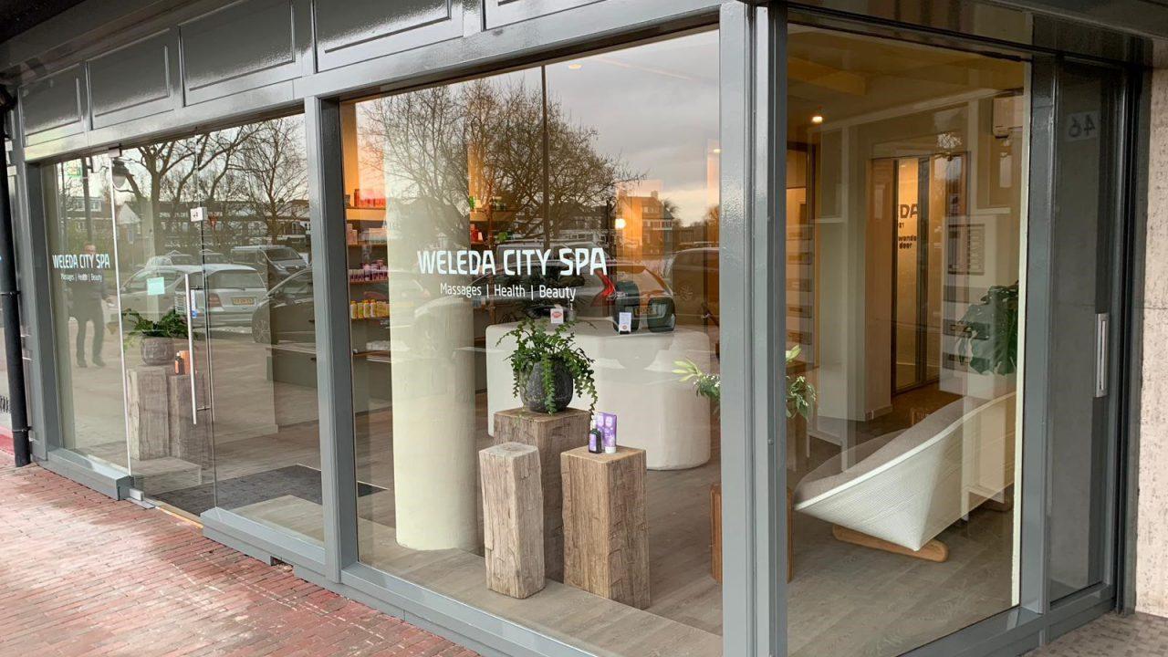 Weleda City Spa. Massage en schoonheidssalon, Hillegersberg Rotterdam