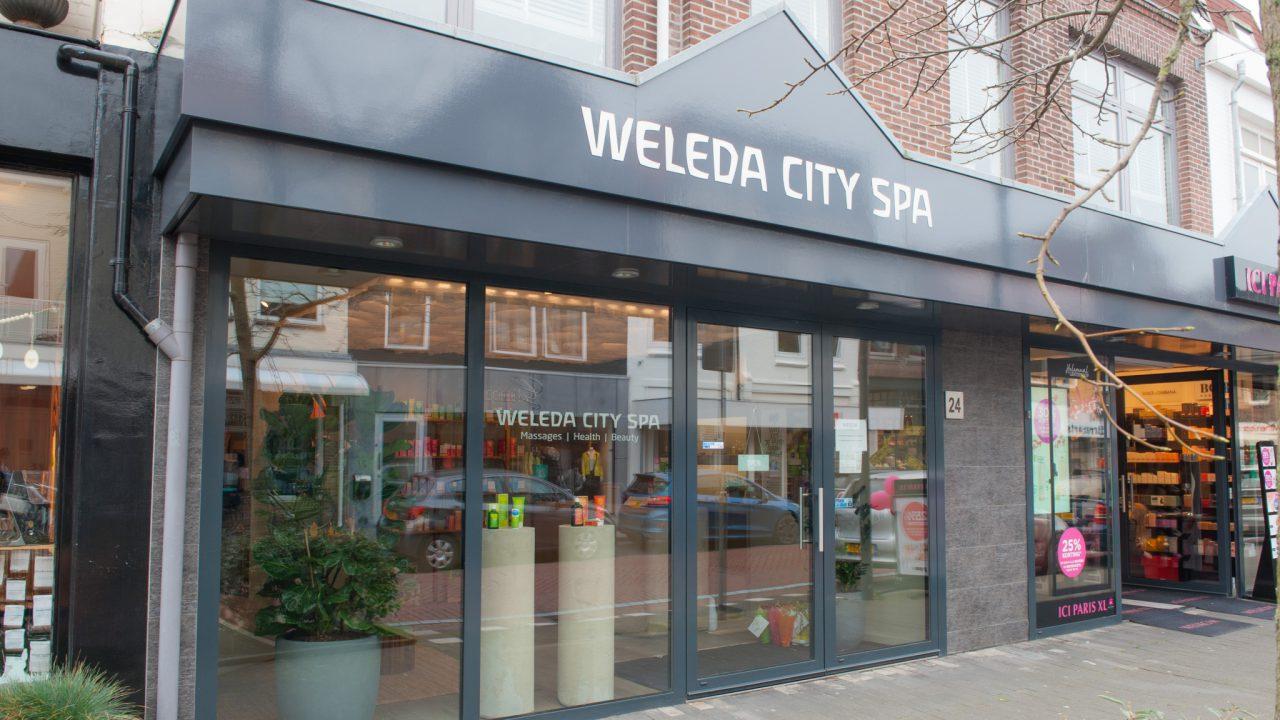 Massage en Gezichtsbehandeling Oegstgeest, Weleda City Spa